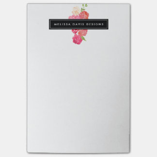 Watercolor Florals Beauty and Design Post-it® Notes