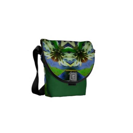 WATERCOLOR FLOW-2 COURIER BAG