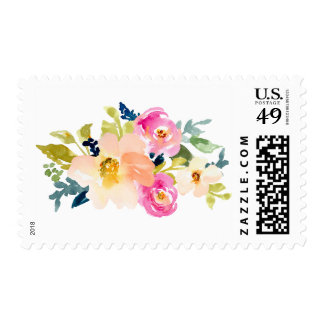 Watercolor Flower Bouquet Watercolor Flower Stamp