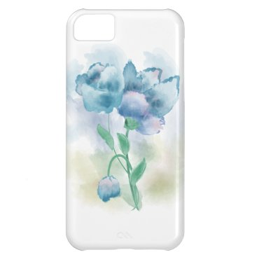Watercolor Flower Case For iPhone 5C