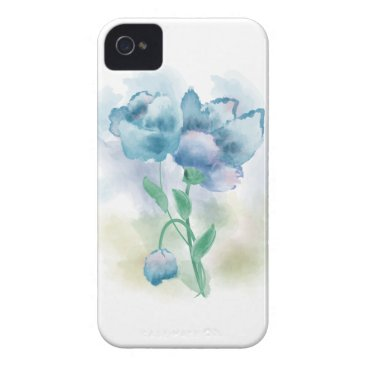 Watercolor Flower Case-Mate iPhone 4 Case