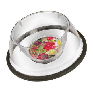 Watercolor Flower Garden Bowl