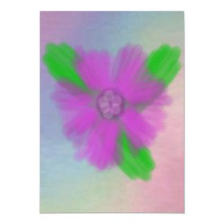 Watercolor Flower Invitation