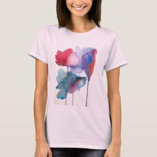 Watercolor flower modern floral art design T-Shirt