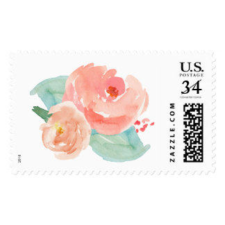 Watercolor Flower Stamp