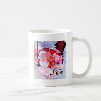 Watercolor flowers. Abstract illustration Coffee Mug