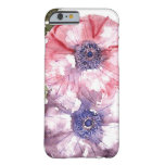 Watercolor flowers barely there iPhone 6 case