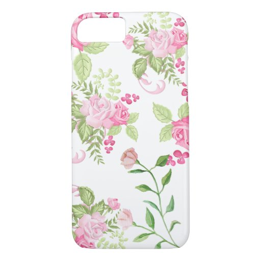 Watercolor Flowers iPhone 8/7 Case
