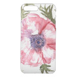 Watercolor flowers iPhone 7 plus case