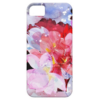 Watercolor flowers iPhone SE/5/5s case