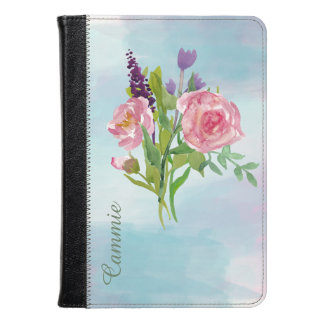 Watercolor Flowers Kindle Fire Folio