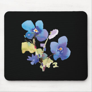 Watercolor Flowers Mouse Mats