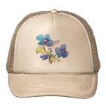 Watercolor Flowers Trucker Hats