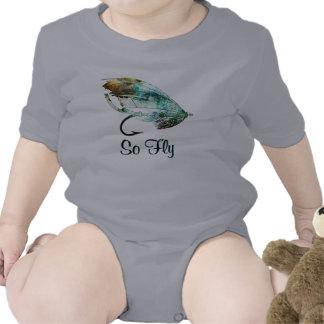 Watercolor Fly Fishing Lure art Shirts