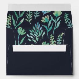 Watercolor Garden Envelopes