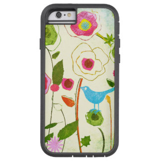 Watercolor Garden Flowers Tough Xtreme iPhone 6 Case