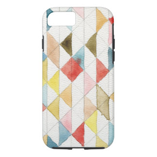 Watercolor Geometric Tribal Triangles iPhone 7 Cas iPhone 8/7 Case