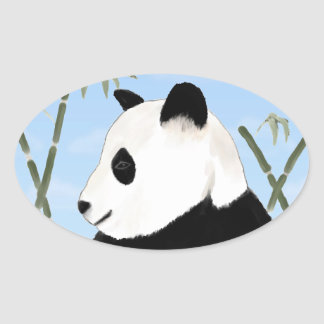Watercolor Giant Panda Stickers