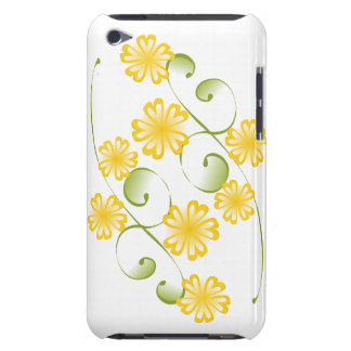 Watercolor Golden Yellow Blooms iPod Touch Case-Mate Case