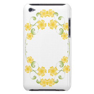 Watercolor Golden Yellow Blooms iPod Touch Cases