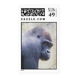 Watercolor Gorilla Stamp