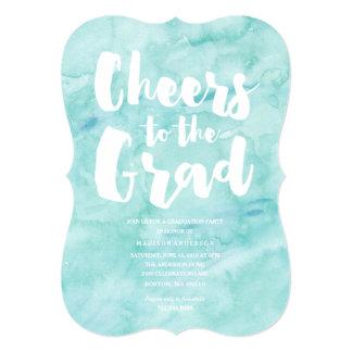 Watercolor Grad | Graduation Invitation