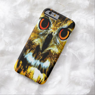 Watercolor Great Horned Owl iPhone 6 Case