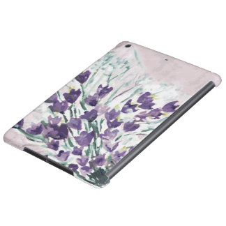 Watercolor grunge background with bells iPad air case