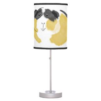 Watercolor Guinea Pig Table Lamp