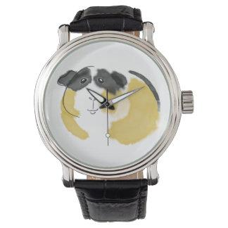 Watercolor Guinea Pig Wrist Watch
