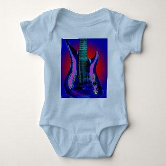 Watercolor Guitar T Shirt