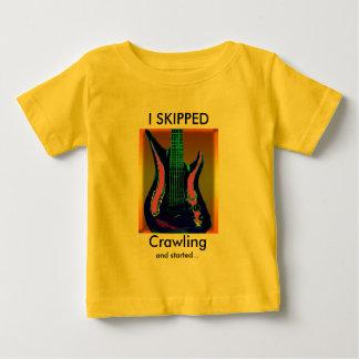 Watercolor Guitar T-shirt