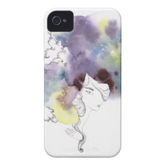 Watercolor Hair iPhone Case