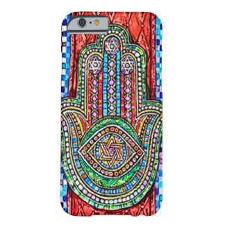 Watercolor Hamsa Tiles Barely There iPhone 6 Case