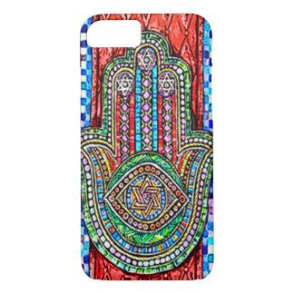 Watercolor Hamsa Tiles iPhone 7 Case