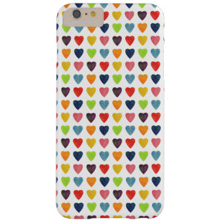 Watercolor Heart Pattern Barely There iPhone 6 Plus Case