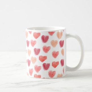 Watercolor Hearts | Mug