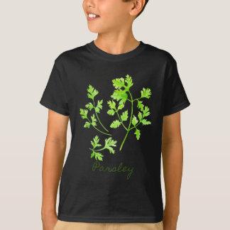 Watercolor Herb Parsley Illustration T-Shirt