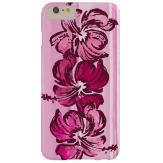 Watercolor Hibiscus Hawaiian Tropical Barely There iPhone 6 Plus Case