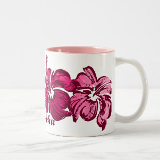 Watercolor Hibiscus Mug