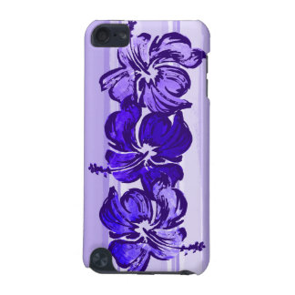 Watercolor Hibiscus Tropical iPod Touch Cases
