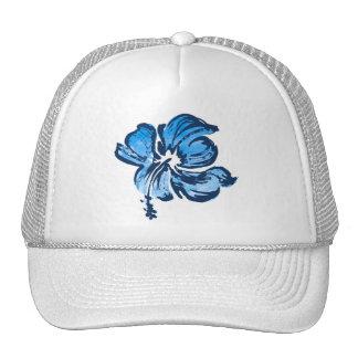 Watercolor Hibiscus Trucker Cap Trucker Hat