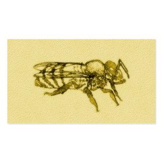 Watercolor Honey Bee Business Card