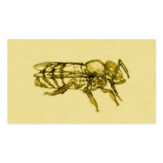 Watercolor Honey Bee Double-Sided Standard Business Cards (Pack Of 100)
