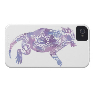 Watercolor Horned Frog iPhone 4 Case