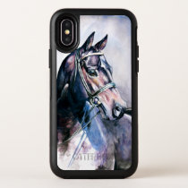 Watercolor Horse OtterBox iPhone X Case