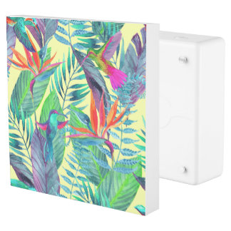 Watercolor Humminbirds In The Jungle 2 Outlet Cover