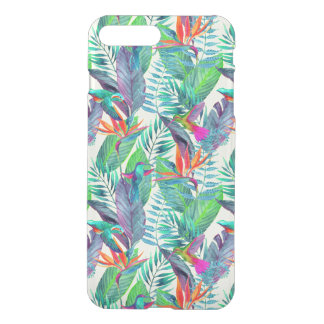 Watercolor Humminbirds In The Jungle iPhone 8 Plus/7 Plus Case