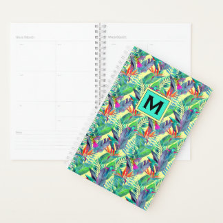 Watercolor Hummingbirds | Add Your Initial Planner