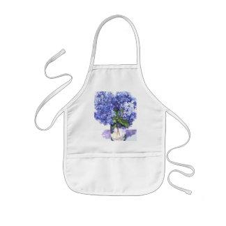 Watercolor Hydrangea Apron